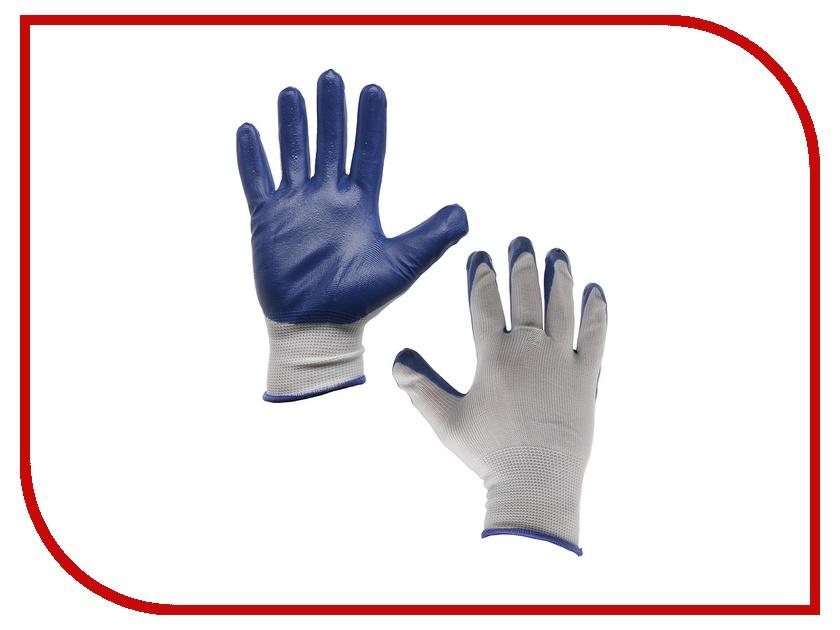 Аксессуар ЛЭВ Металург Перчатки хб латексные 10 класс Blue
