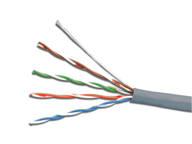 Сетевой кабель 5bites UTP / SOLID 5E 24AWG CCA PVC 100M US5505-100A