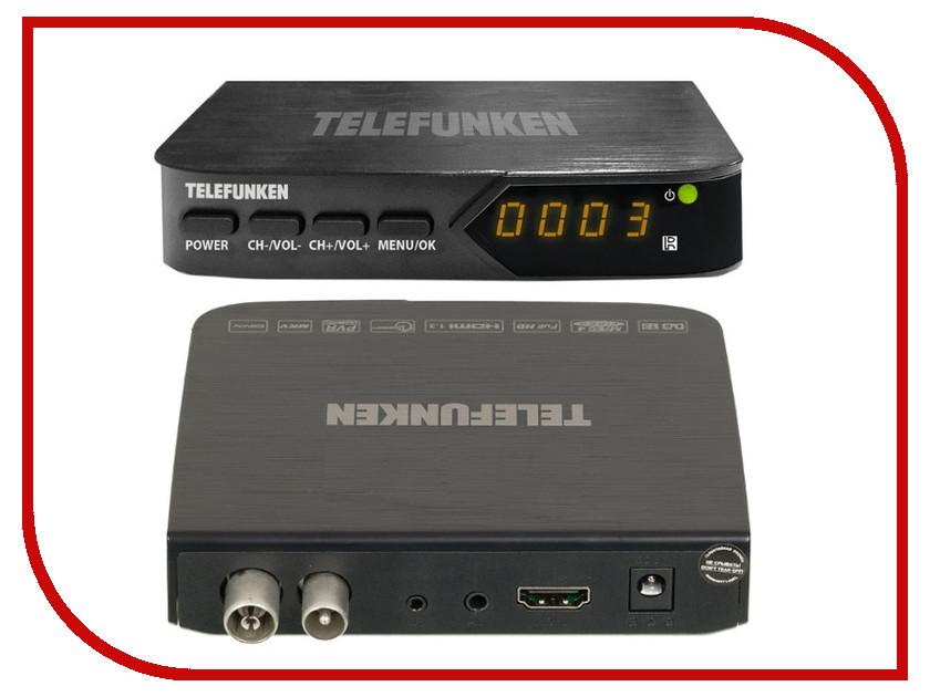 Тюнер Telefunken TF-DVBT210 Black<br>
