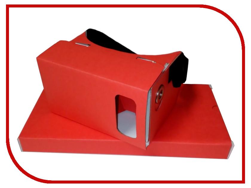 Видео-очки PlanetVR BOX Original Red