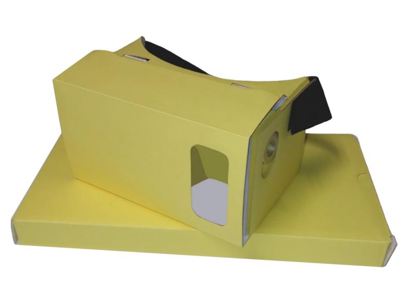 Видео-очки PlanetVR BOX Yellow<br>
