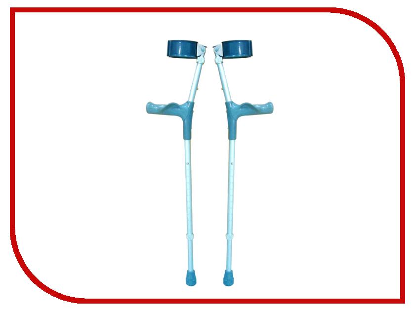 Костыль Bronigen BFC A M с опорой под локоть и двойной регулировкой (пара)<br>