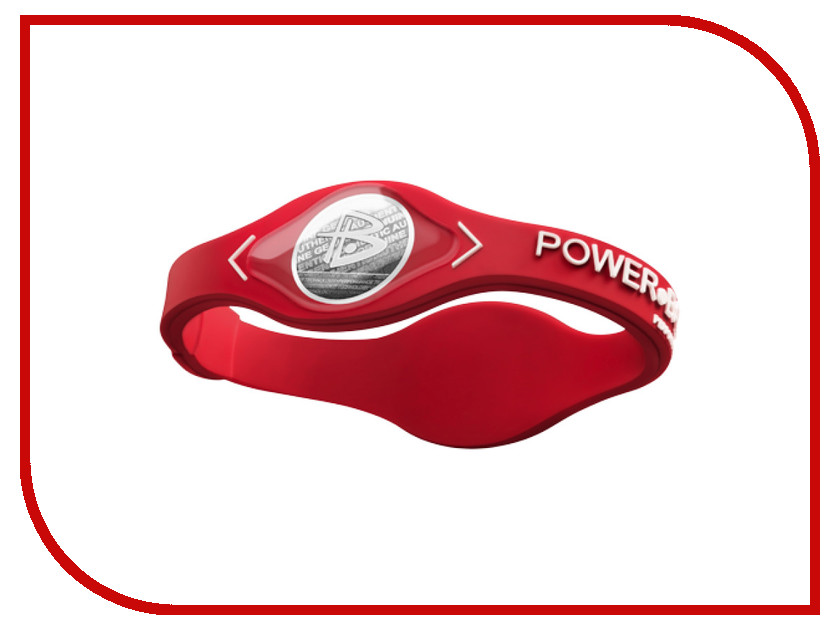 Браслет POWER BALANCE S Core Red/White<br>