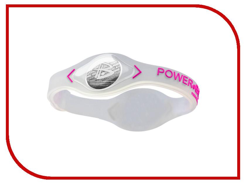 Браслет POWER BALANCE XS Core Transparent/Pink