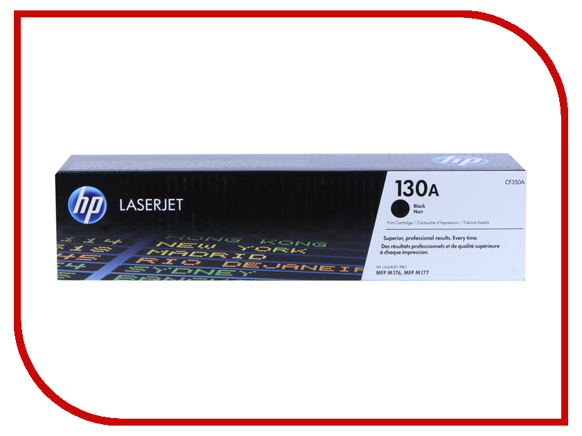 Картридж HP 130A Black для LJ Pro M176n/M177fw CF350A<br>