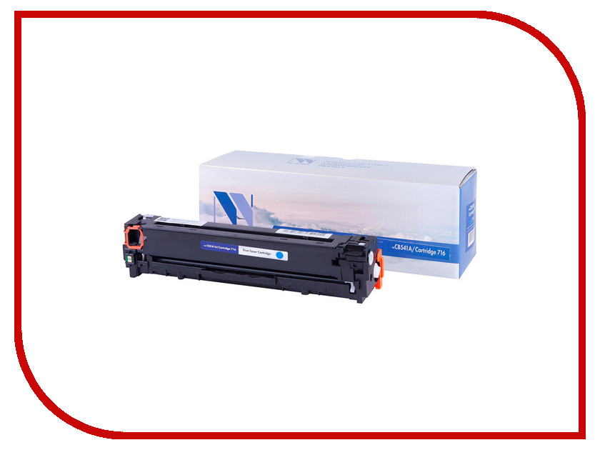 Картридж NV Print CB541A/CRG716 Cyan для HP LaserJet Color CP1215/1515/1518 1400k картридж для принтера nv print для hp cf403x magenta