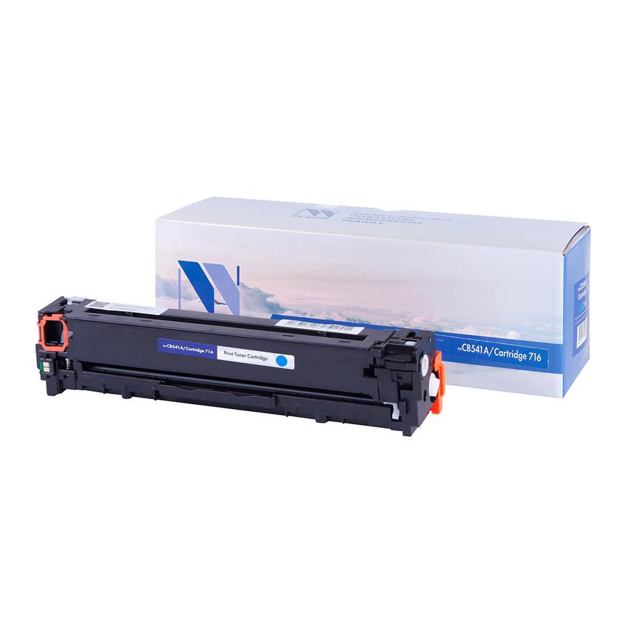 Картридж NV Print CB541A/CRG716 Cyan для HP LaserJet Color CP1215/1515/1518 1400k