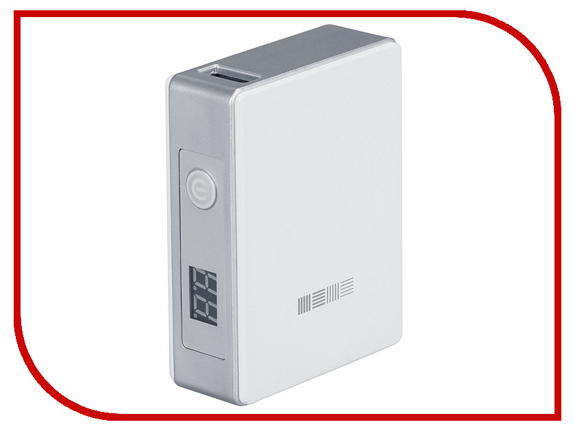 Аккумулятор InterStep PB52001U 5200 mAh 1USB/2A White IS-AK-PB52001UW-000B201 43406