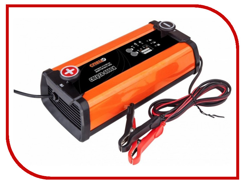 Зарядное устройство для автомобильных аккумуляторов СПЕЦ СВ-8000-И<br>