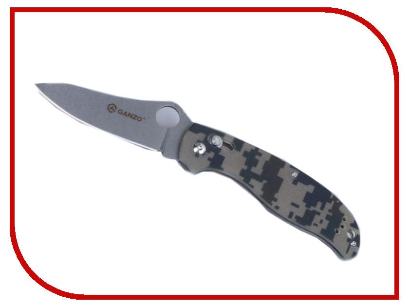 Нож Ganzo G733-CA Camo - длина лезвия 91мм нож ganzo g704 ca камуфляж
