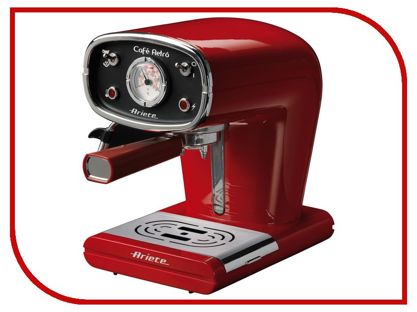 Кофемашина Ariete 1388 Retro Red Б0016488 кофемашина saeco hd8919 59