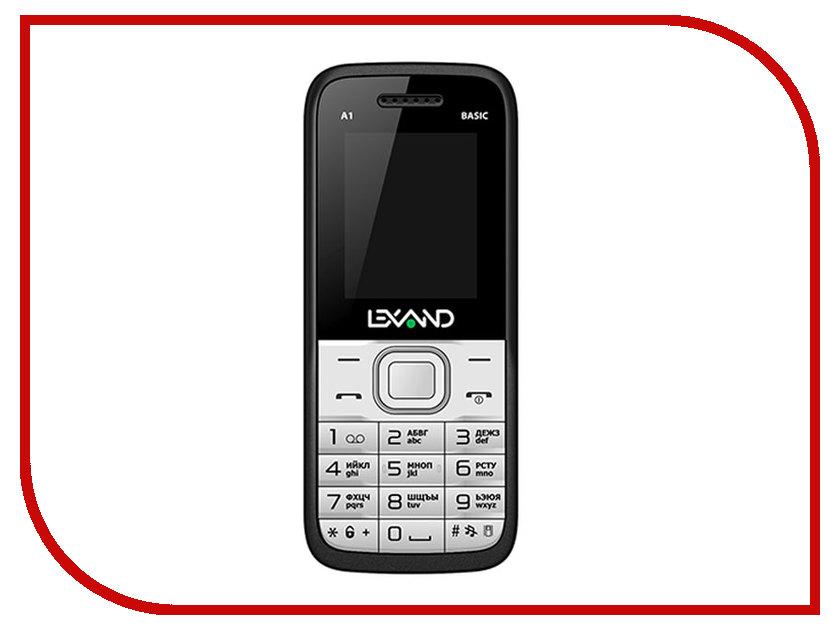 Сотовый телефон Lexand A1 Basic White