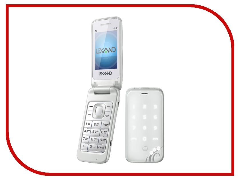 Сотовый телефон Lexand A2 Flip White сотовый телефон lexand a2 flip black