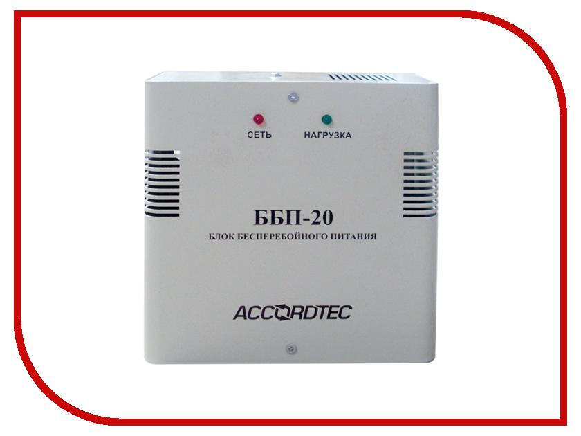 Аккумулятор AccordTec ББП-20 аккумулятор accordtec янтарь 12 16 источник питания