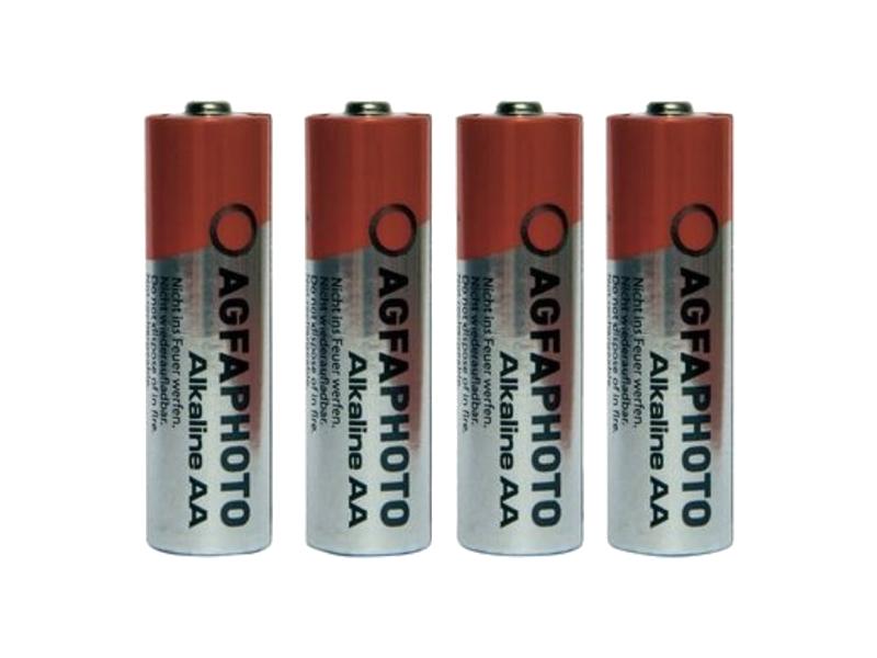 Батарейка AA - AgfaPhoto LR6 Alkaline (4 штуки) батарейка aa perfeo lr6 4bl super alkaline 4 штуки