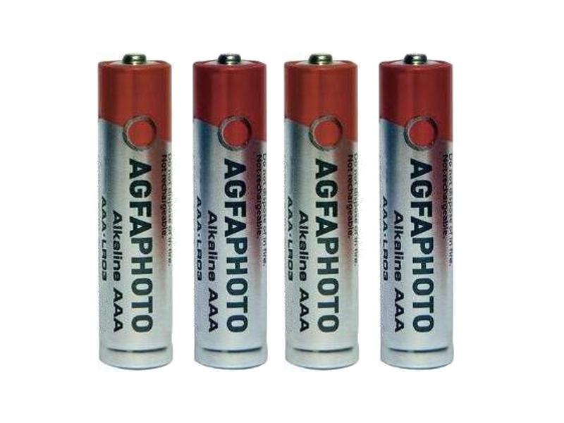 Батарейка AAA - AgfaPhoto LR03 Alkaline (4 штуки) батарейка aaa energizer max lr03 e92 fsb4 4 штуки