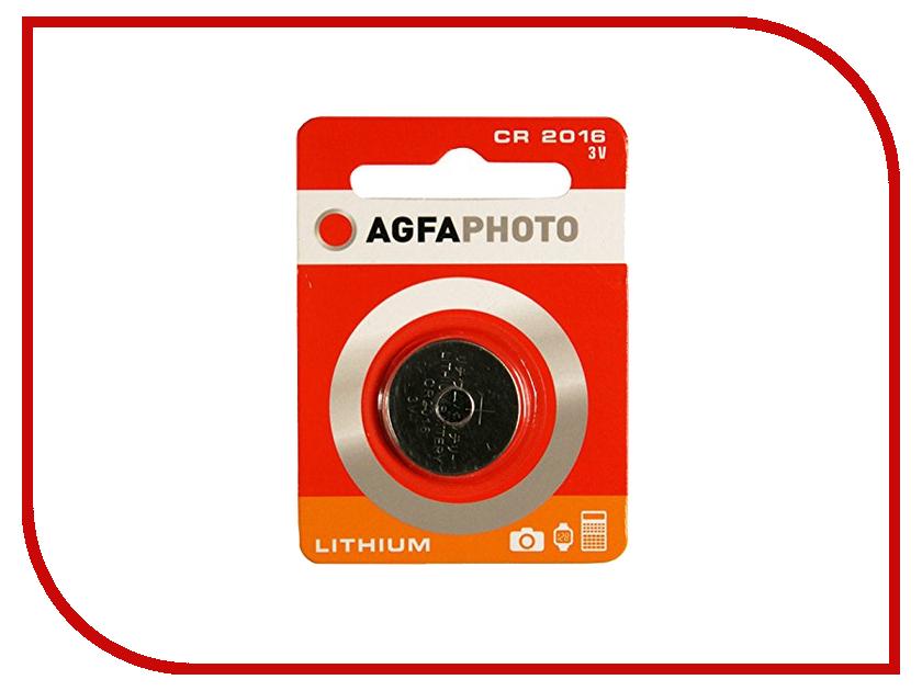 Батарейка AgfaPhoto CR2016 (1 штука)