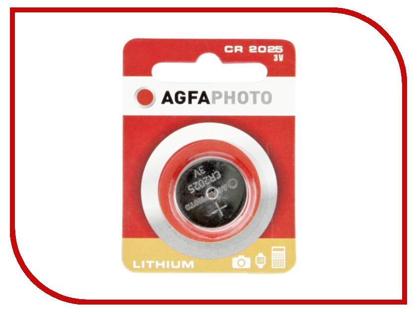 Батарейка AgfaPhoto CR2025 (1 штука)