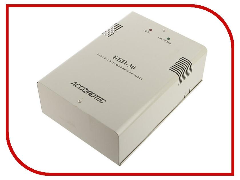 Аккумулятор AccordTec ББП-30 исполнение 1 аккумулятор accordtec янтарь 12 16 источник питания