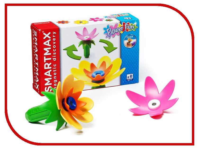 Игрушка Конструктор Bondibon Забавные цветы BB0899<br>