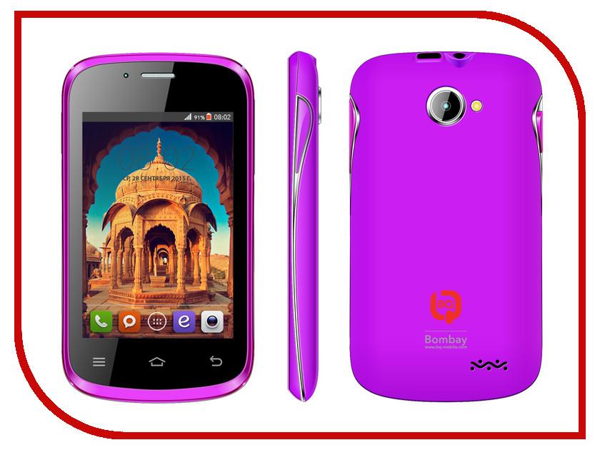 Сотовый телефон BQ Bombay BQS-3503 Purple сотовый телефон bq bqs 5070 magic lte brown
