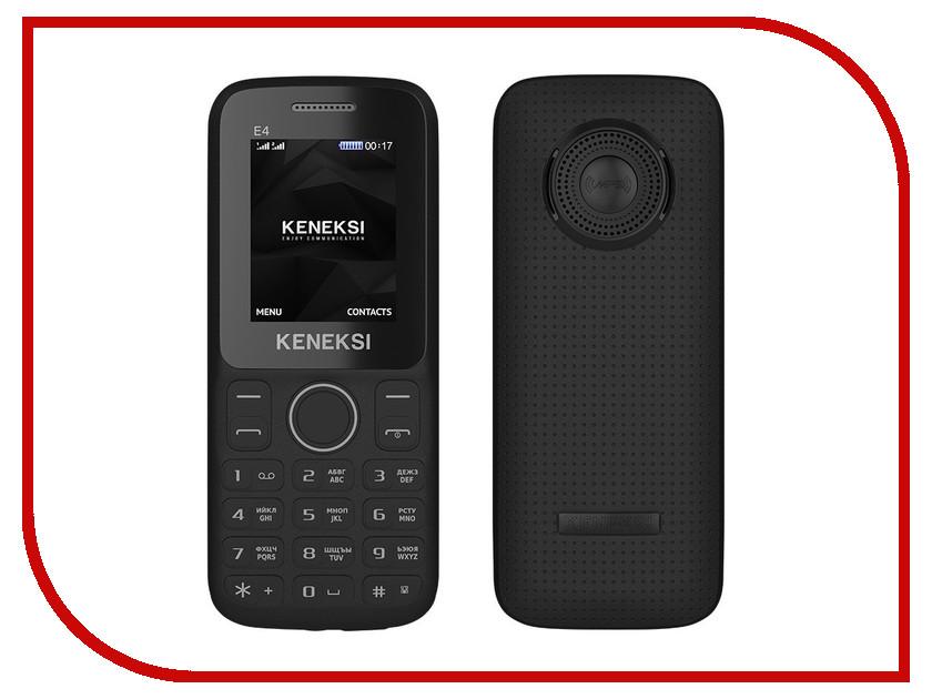 Сотовый телефон KENEKSI E4 Black