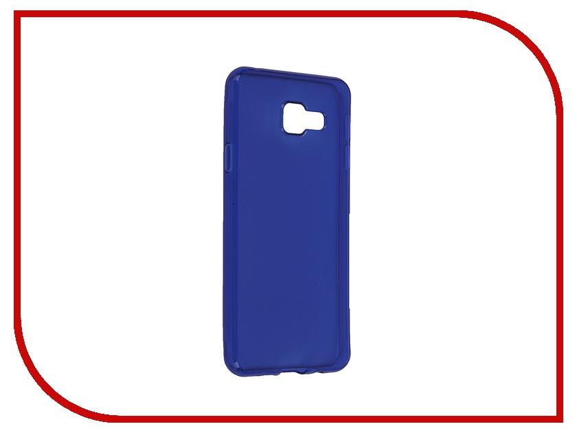 Аксессуар Чехол-накладка Samsung Galaxy A3 2016 iBox Crystal Blue<br>