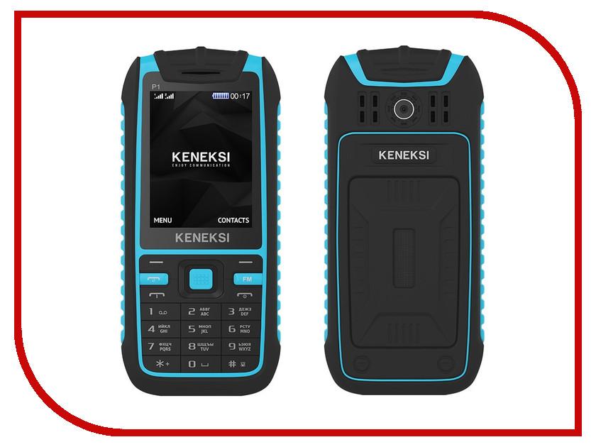 Сотовый телефон KENEKSI P1 Blue<br>