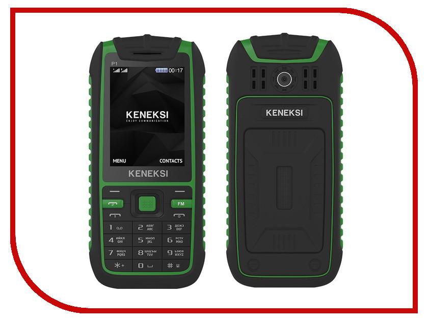 Сотовый телефон KENEKSI P1 Green<br>