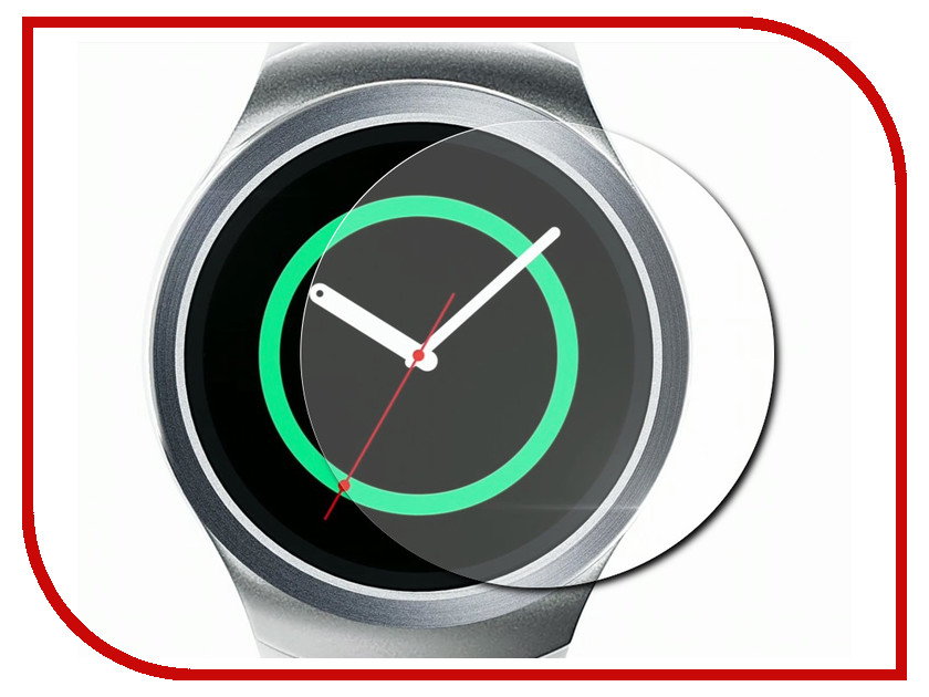 ��������� �������� ������ Samsung Gear S2 Red Line Matte