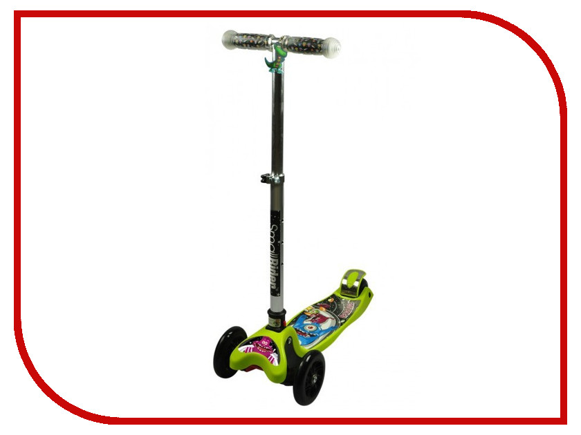Самокат Small Rider Space Race Maxi Lime space race
