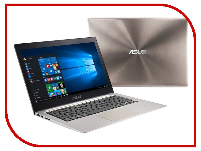 Ноутбук ASUS Zenbook Pro UX303UB-R4074R 90NB08U1-M02950 Intel Core i5-6200U 2.3 GHz/8192Mb/1000Gb/No ODD/nVidia GeForce 940M 2048Mb/Wi-Fi/Bluetooth/Cam/13.3/1920x1080/Windows 10 64-bit<br>