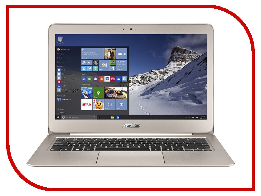 Ноутбук ASUS Zenbook Pro UX305UA-FC048R 90NB0AB5-M02950 Intel Core i5-6200U 2.3 GHz/8192Mb/512Gb SSD/No ODD/Intel HD Graphics/Wi-Fi/Bluetooth/Cam/13.3/1920x1080/Windows 10 64-bit<br>