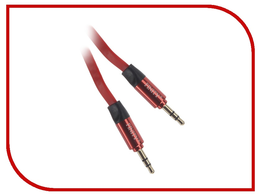 Аксессуар Finity Luxe AUX Jack 3.5mm 1m Red<br>