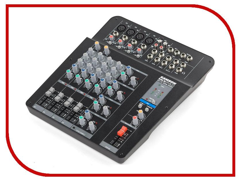 Пульт Samson MixPad MXP124 рэковый шкаф и кейс samson srk16