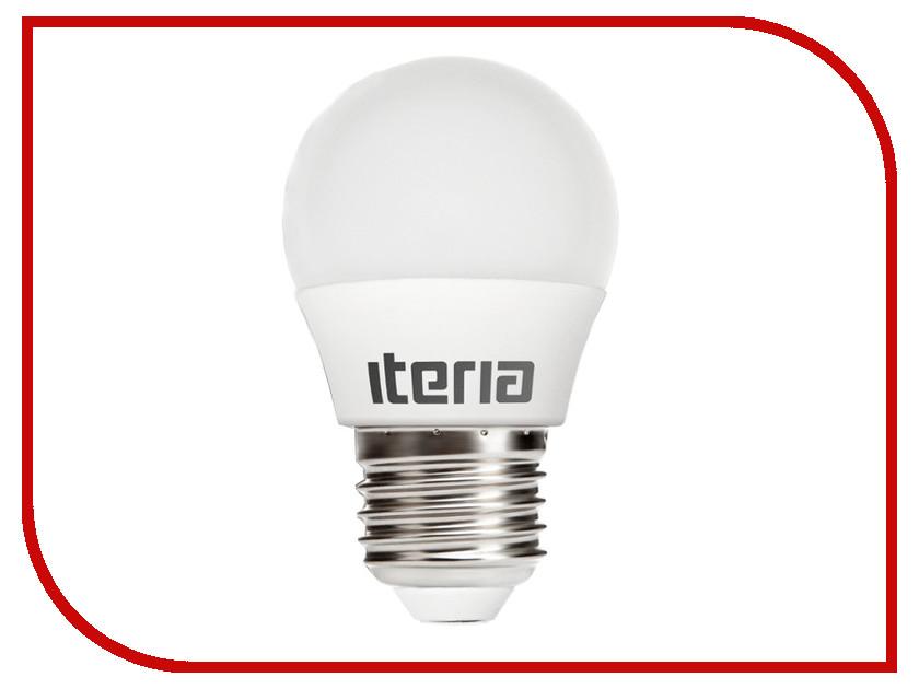 Лампочка Iteria Шар 6W 2700K E27 матовая 803007<br>