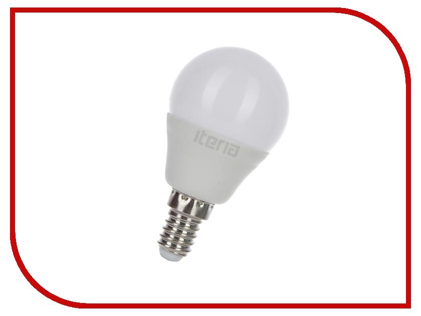 Лампочка Iteria Шар 6W 2700K E14 матовая 803005<br>
