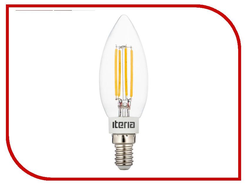 Лампочка Iteria Свеча хрустальная Classic 5w 4100к E14 805002<br>