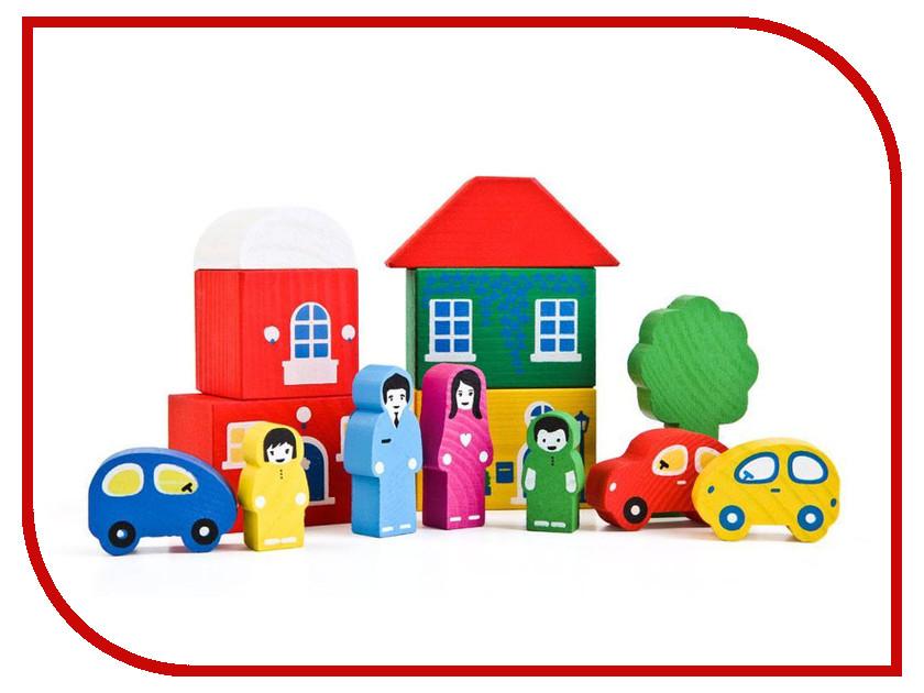 Сборная модель Томик Цветной городок 8688-4 Green
