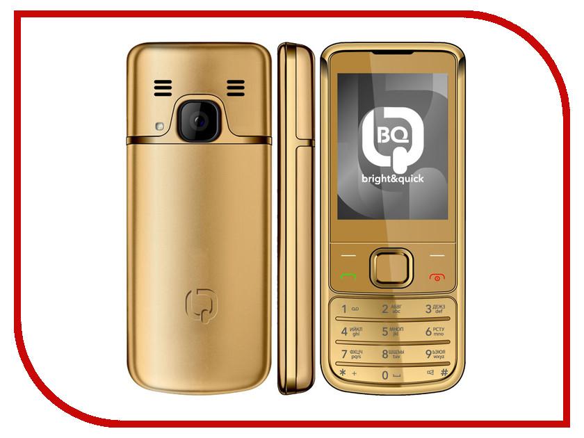 Сотовый телефон BQ BQM-2267 Nokianvirta Gold сотовый телефон bq bqm 1801 bangkok orange