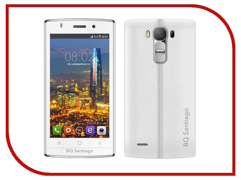Сотовый телефон BQ BQS-4505 Santiago White<br>