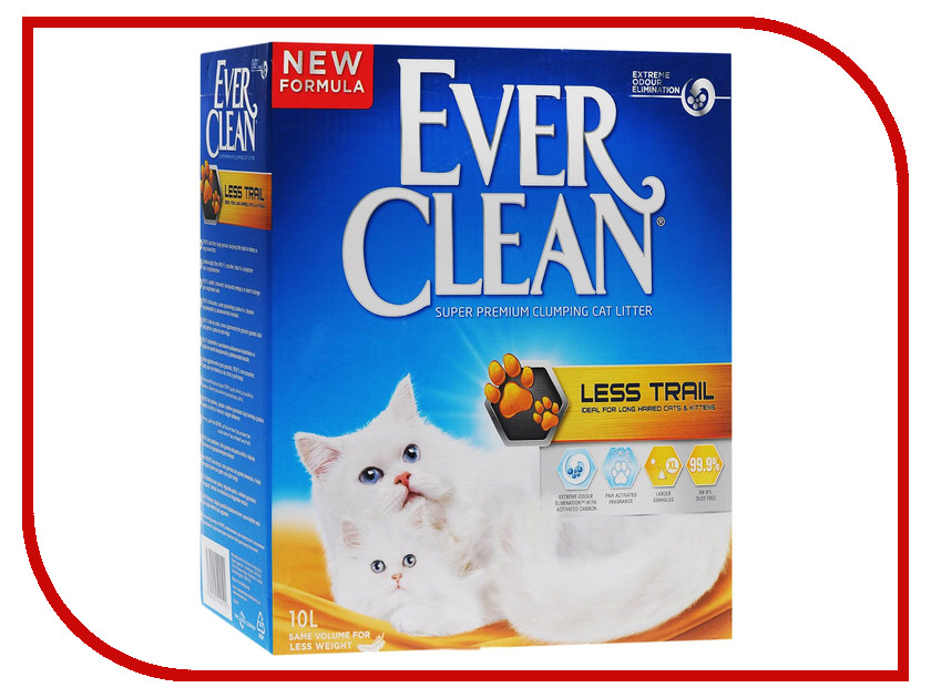 Наполнитель Ever Clean Less Trail 10kg 25346