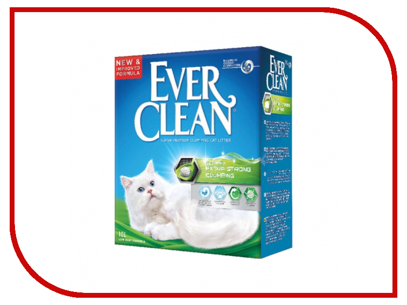 Наполнитель Ever Clean Extra Strong Clumping Scented 10L 59656<br>