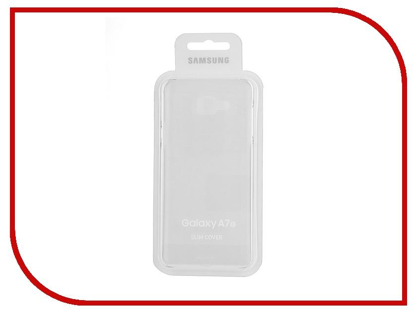 Аксессуар Чехол Samsung Galaxy A7 2016 Transparent EF-AA710CTEGRU<br>