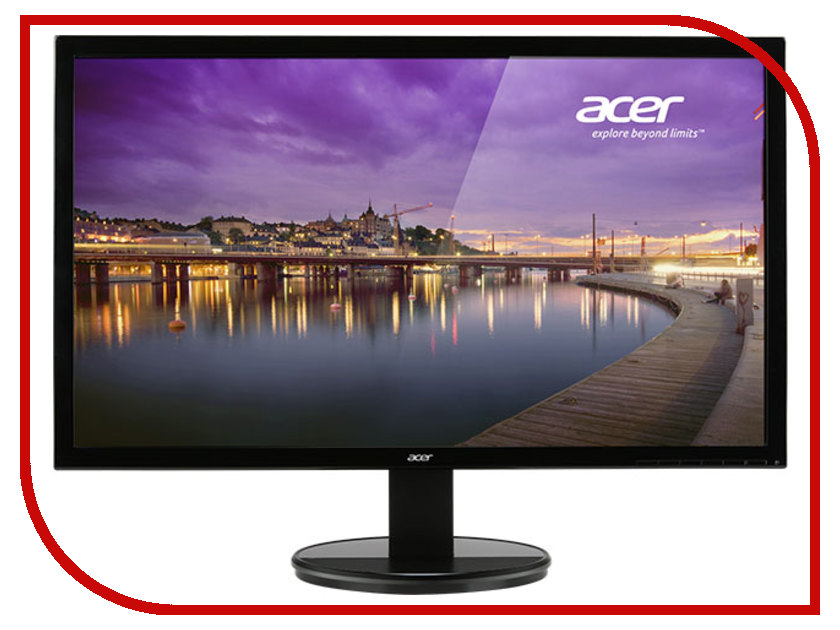 Монитор Acer K202HQLAb Black