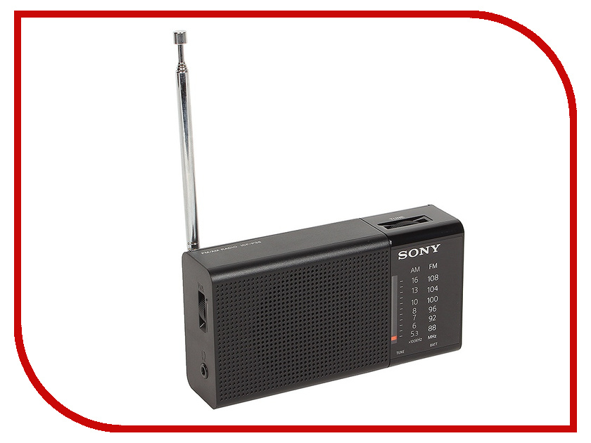 Радиоприемник Sony ICF-P36 Black<br>