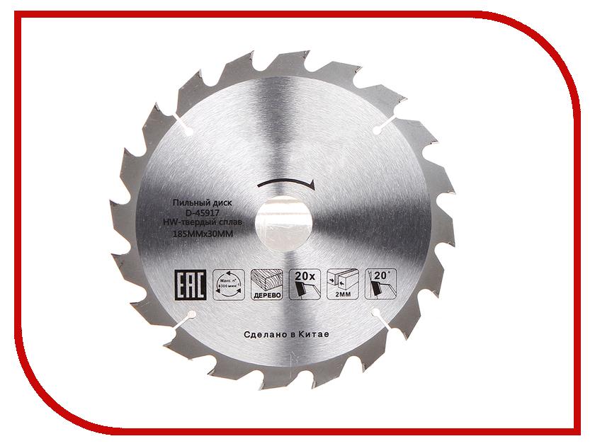 Диск Makita Standart D-45917 пильный по дереву, 185x2.0x30mm, 20 зубьев