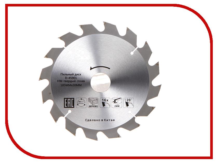 Диск Makita Standart D-45901 пильный по дереву, 185x2.0x30mm, 16 зубьев