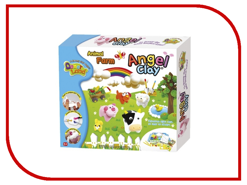 Набор для лепки Donerland Angel Clay Animal Farm AA12051