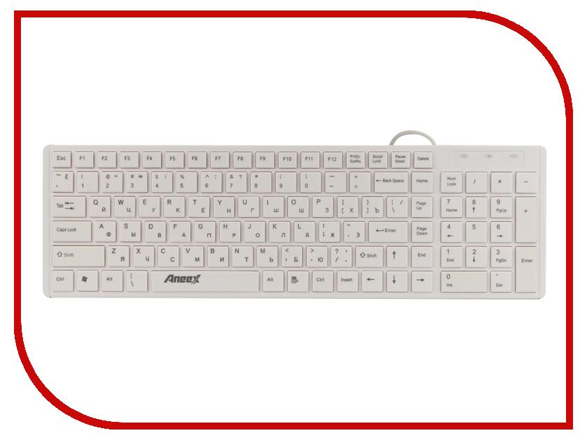 Клавиатура Aneex E-K502 limoni holiday лак для ногтей тон 725 7 мл